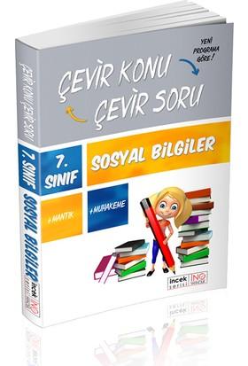 İnovasyon 7. Sınıf Sosyal Bilgiler Çevir Konu Çevir Soru İncek Serisi
