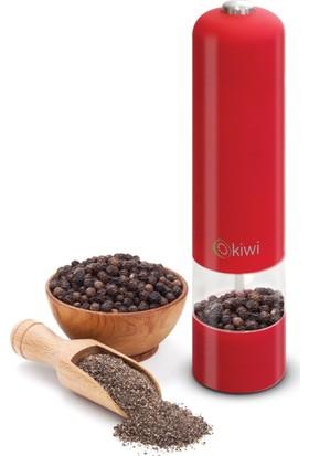 Primera Kiwi Otomatik Tuz Ve Karabiber Değirmeni Kırmızı