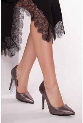 Tarçın TRC01 Kadın Platin Stiletto