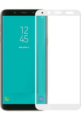 Sonmodashop Samsung Galaxy J6 2018 Tam Ekran 3D Cam Ekran Koruyucu J600F