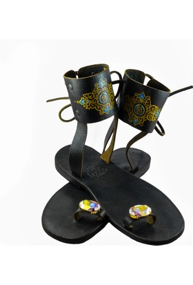 Husna Sandals Kadın Sandalet Artemisia S
