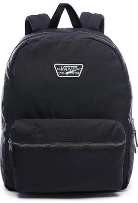Vans Expedition Backpack Laptop Bölmeli Sırt Çantası Black