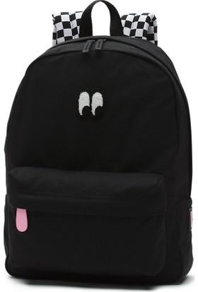 Vans X Lazy Oaf Eyeball Backpack Sırt Çantası Black
