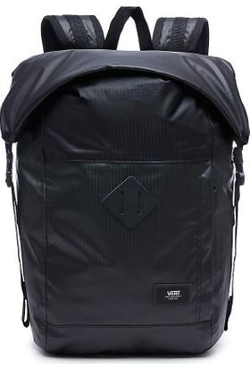 Vans Fend Roll Top Backpack Sırt Çantası Black