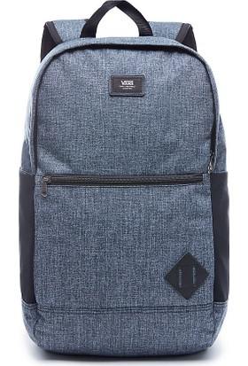Vans Van Doren Iii Backpack Laptop Bölmeli Sırt Çantası Heather Black Suiting