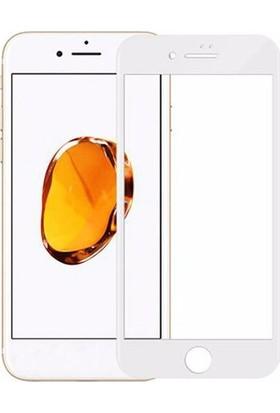 Engo iPhone 8 Yeni Nesil 5D 9H Tam Korumalı Temperli Ekran Koruyucu Cam