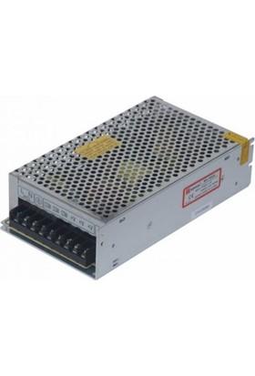 Mervesan Metal Kasa Led Trafosu 12 Volt 16.5A 200 Watt (Ac/Dc)