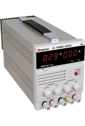 Mervesan Laboratuvar Tipi Güç Kaynakları 150W-5A