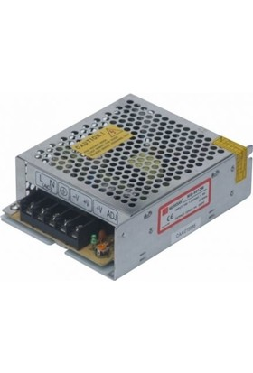 Mervesan Metal Kasa Led Trafosu 12 Volt 5A 60 Watt (Ac/Dc)