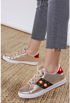 Rovigo Kadın Dore Ayakkabı 111158977