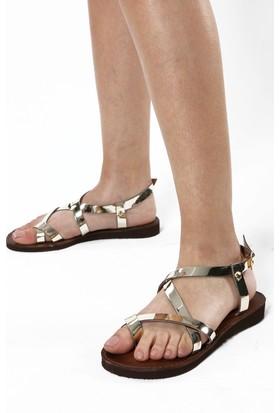 Rovigo Kadın Altın Sandalet 111190303