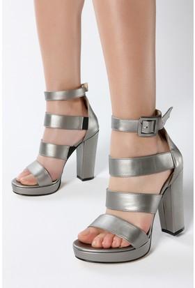 Rovigo Kadın Gri Ayakkabı 1111813315