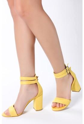Rovigo Kadın Sarı Sandalet 1111900251