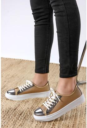 Rovigo Kadın Hardal - Platin Ayakkabı 11119003211