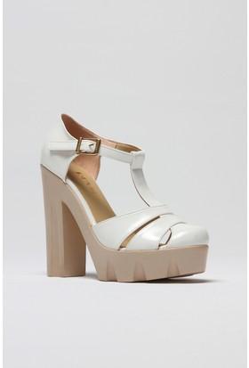 Rovigo Kadın Beyaz Sandalet 1111570015455