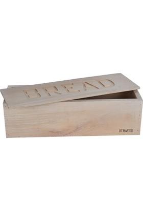 Utyawood Bread Dekoratif Ekmek kutusu