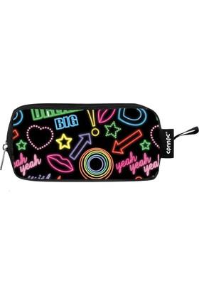 c793a0a230f19 Ümit Çanta Cennec Renkli Neon Tabelalar Kalem Çantası - 782