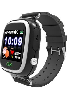 Sentar V80 - TD02 Dokunmatik Ekran GPS Takipli Akıllı Çocuk Saati - Siyah