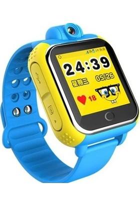 Sentar V80-07 Wi-Fi Bluetooth 3G GPS Özellikli Android Akıllı Çocuk Saati - Mavi