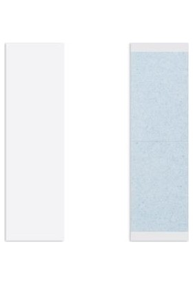 Walker Mavi Protez Saç Bandı 108 Adet Düz