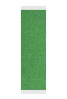Yeşil Protez Saç Bandı 36 Adet Düz