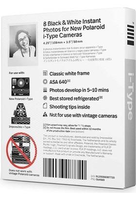 Polaroid Siyah-Beyaz Film - B&W Film For İ-Type