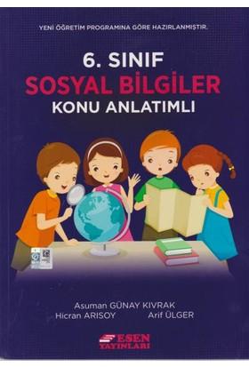 Esen Yayınları 6. Sınıf Sosyal Bilgiler Konu Anlatımlı