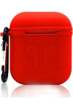 Happyshop Apple Airpods İçin Askılı İnce Slim Silikon Kılıf