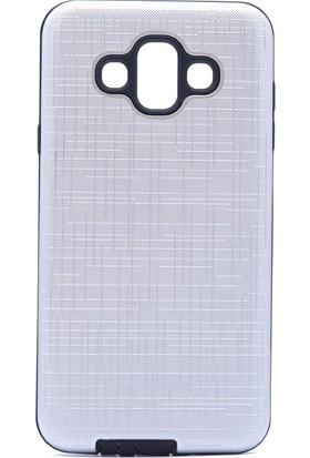 Happyshop Samsung Galaxy J7 Duo Kılıf Ultra Korumalı New Youyou Silikon + Cam Ekran Koruyucu