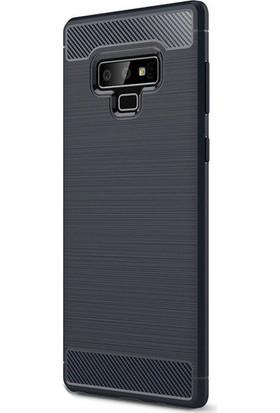 Happyshop Samsung Glaxy Note 9 Kılıf Ultra Korumalı Room Silikon + Full Body Jelatin