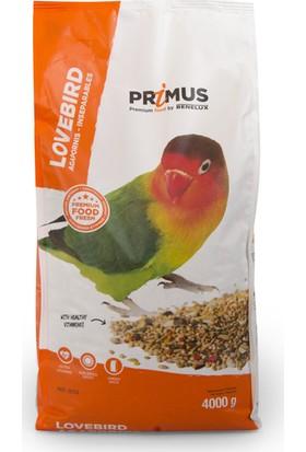 Benelux Primus Premium Vitaminli Sevda ve Cennet Papağanı Yemi 4 kg