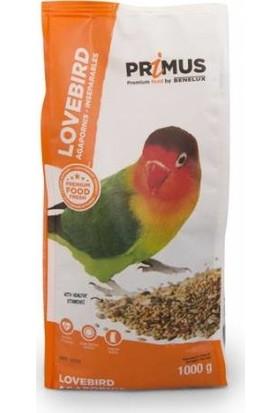 Benelux Primus Premium Vitaminli Sevda ve Cennet Papağanı Yemi 1 kg