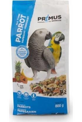 Benelux Primus Premium Tüm Papağanlar İçin Ekstra Meyveli Karışık Yem 800 g