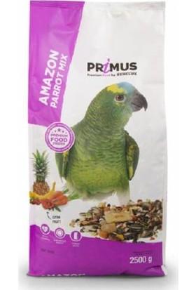 Benelux Primus Premium Amazon Papağanları İçin Ekstra Meyveli Karışık Yem 2.5 K
