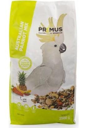 Benelux Primus Premium Kakadu Papağanları İçin Ekstra Meyveli Karışık Yem 2.5 Kg