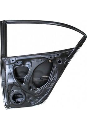 Ypc Honda City- 2009/2012 Arka Kapı Komple Sağ Siyah (İceli/Çekomastikli)