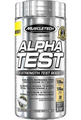 Muscletech Alpha Test 120 Kapsül
