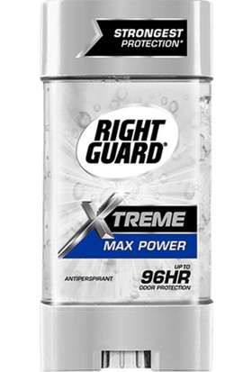 Right Guard Xtreme Max Power Antiperspirant Deodorant Jel 113 gr
