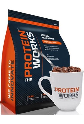 The Protein Works Mug Cake Mix Choc Fudge 500 gr