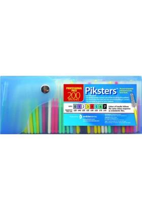 Piksters Diş Arası Temizleme Fırçası 200'lü Paket