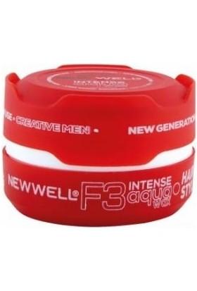 New Well Wax F3 Saç Şekillendirici Kırmızı 150 ml