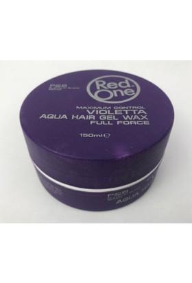 Red One Violetta Aqua Hair Gel Wax Maximum Control 150ml