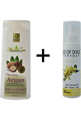 Aromacare argan yağlı şampuan ve vanilyalı parfüm