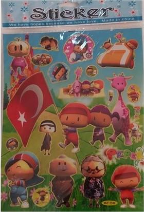 Defter Stickers Pepe Figürlü