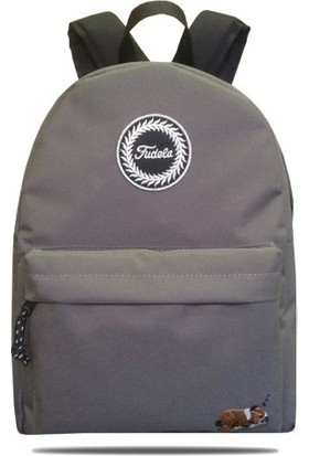 Fudela ZYE Gray Dog Backpack