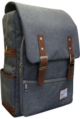 Fudela JNB Grey Backpack Sırt Çantası