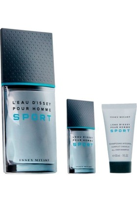 Issey Miyake L'eau d'issey Pour Homme Sport Edt 100 ml Set