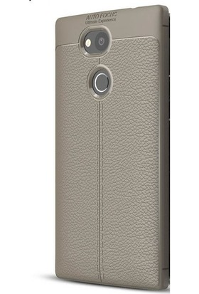 Ehr. Sony Xperia XA2 Ultra Darbeye Karşı Lüx Silikon Kılıf + Ekran Koruyucu Cam