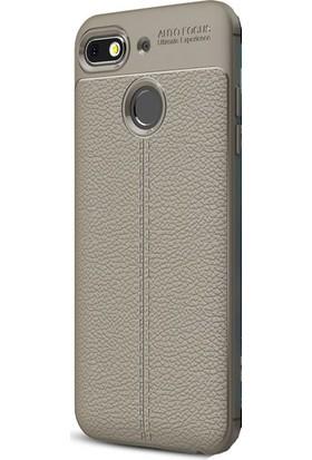 Ehr. General Mobile GM 8 Go Ultra Lüx Deri Silikon Kılıf + Ekran Koruyucu Cam