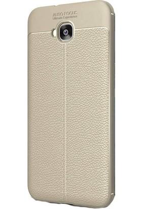 Ehr. Asus Zenfone 4 Selfie ZD553KL Ultra Lüx Deri Silikon Kılıf